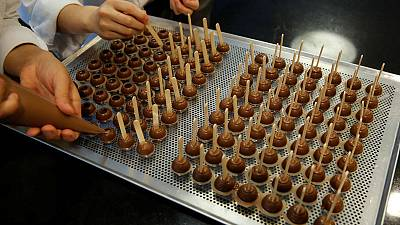 Barry Callebaut sticks to sales growth target despite weak quarter