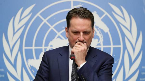 U.N. Palestinian refugee agency replaces boss pending inquiry outcome