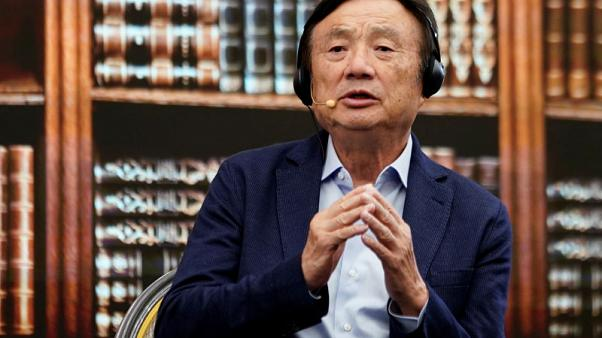 Huawei founder says not yet talking directly with U.S. firms to licence 5G