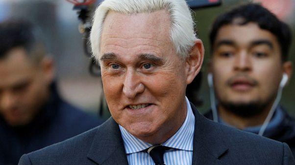 Jury selected for longtime Trump adviser Roger Stone's trial