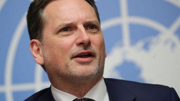 Head of U.N. Palestinian refugee agency has resigned - U.N. spokesman