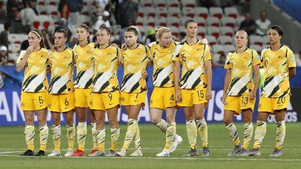 Australia, equity pay Socceroos-Matildas