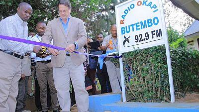 La Radio Okapi installe un studio à Butembo