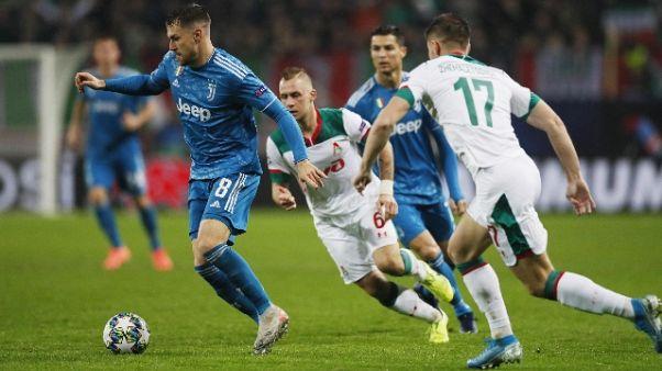 Champions: Juventus agli ottavi