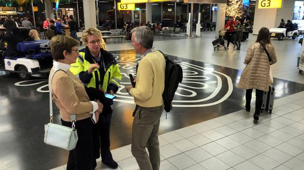 Pilot accidentally hits hostage alarm, causing lockdown at Amsterdam's Schiphol airport