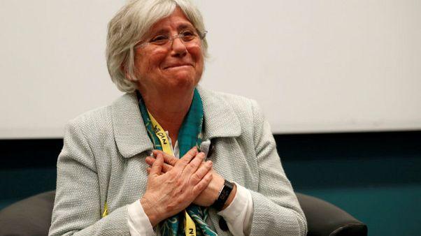 Britain won't act on European arrest warrant for Catalan separatist Clara Ponsati