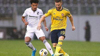 Arsenal held as Guimaraes grab last-gasp equaliser