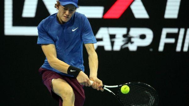 Tennis: Next Gen, Sinner già semifinale