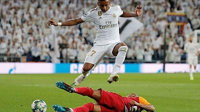 Rampant Rodrygo powers Real to 6-0 win over Galatasaray