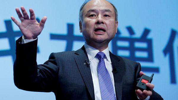 SoftBank Group shares slide over 4% after massive quarterly loss