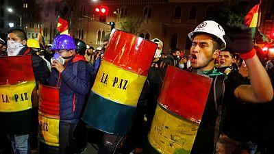 Bolivian protest leader arrives in La Paz to pressure Morales