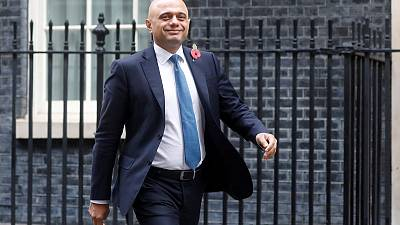 Javid says would spend up to 3% of GDP on infrastructure
