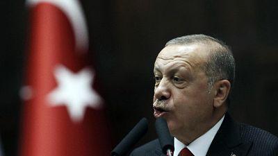Erdogan attacca l'Uefa