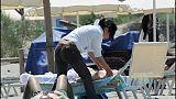 Massaggi in spiaggia, due Daspo urbani