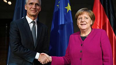 Europe at risk if Germany turns its back on U.S., NATO chief says