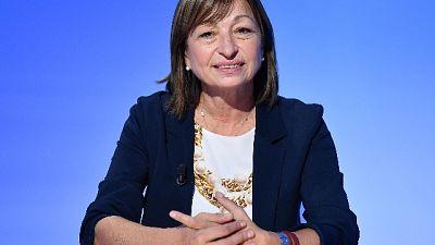 Umbria, Tesei proclamata presidente