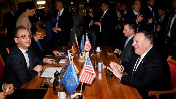 "Asked about NATO's 'brain death', Pompeo hails ""historic"" partnership"