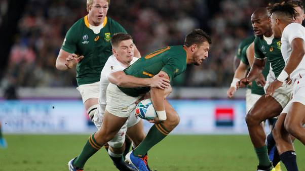 South Africans Pollard, De Jager sidelined by World Cup injuries