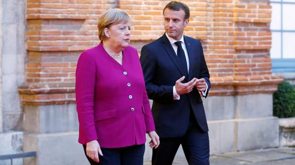 Emmanuel Macron to meet Angela Merkel for 30th anniversary weekend of the fall of the Berlin Wall