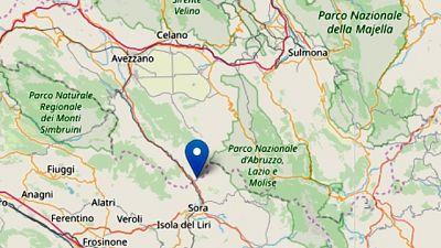 Altre scosse in zona epicentro Abruzzo