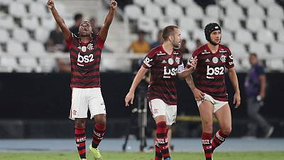 Late goal gives Flamengo 1-0 win over city rivals Botafogo