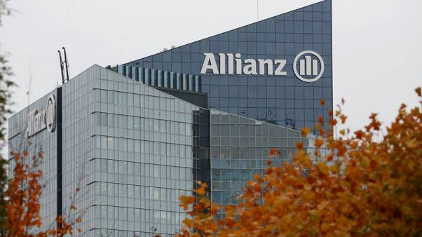 Allianz sees 2019 profit in upper half of target range after solid third quarter
