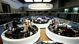 European shares dip as trade-fueled rally loses steam