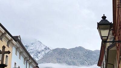 Maltempo, prima neve attorno ad Aosta