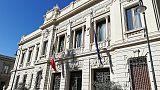 Reggio C.,bandiere mezz'asta per Candido