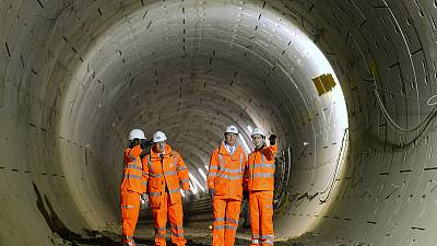 London's Crossrail could cost an extra £650 million, delayed again