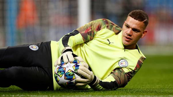 Man City goalkeeper Ederson out of Liverpool clash, says Guardiola
