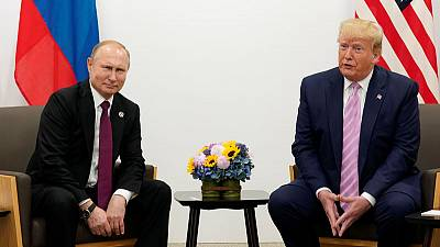 Trump says thinking about attending Russia's May Day parade