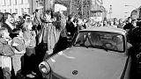 """""""Cornerstones of cruelty"""": Recalling Berlin Wall, Pompeo warns of authoritarianism"""