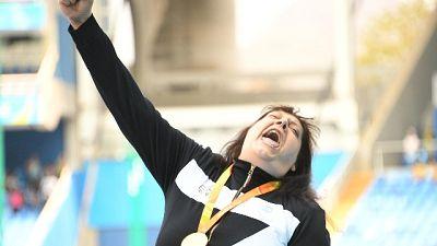 Mondiali paralimpici, Legnante oro peso