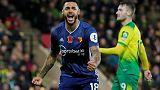 Watford finally win after sinking lacklustre Norwich 2-0