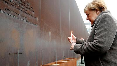 Germany celebrates 30th anniversary of Berlin Wall's fall