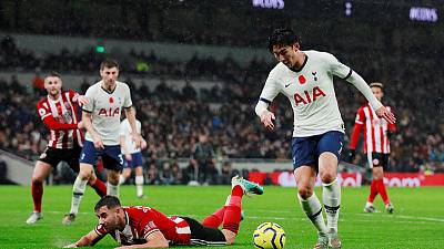 Spluttering Spurs held at home by Sheffield United