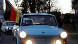 Go, Trabi, go: Germans re-enact fall of Berlin Wall with car parade