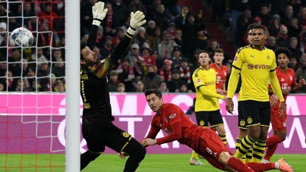 Bayern travolgente, 4-0 al Dortmund