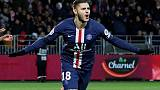 Icardi's quick impact gives PSG late win at brave Brest