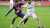 Real go top after crushing win at Eibar