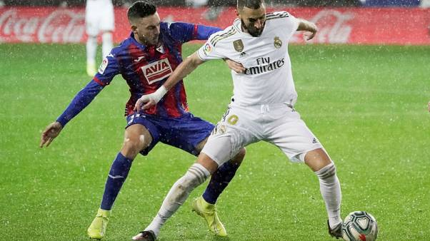Real go top after crushing win at Eibar