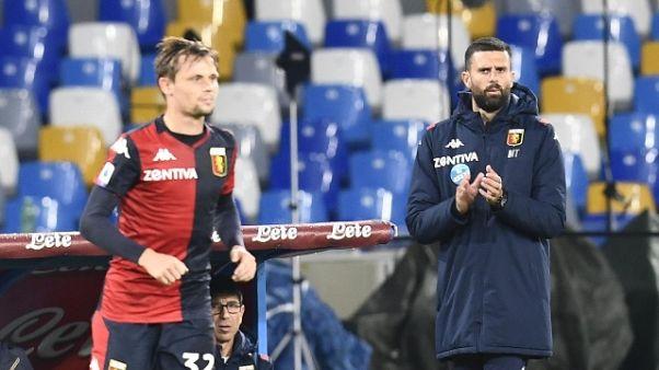 Genoa: Motta,mi piace spirito di squadra
