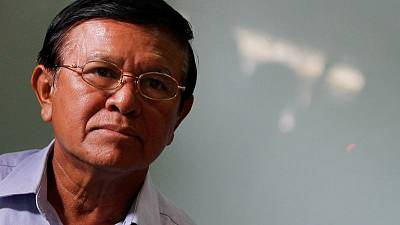 Cambodian opposition leader Kem Sokha calls for charges to be dropped