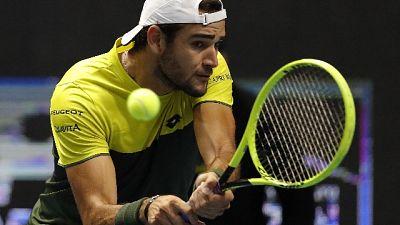 Atp Finals: Berrettini ko con Djokovic