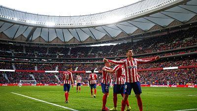 Liga:Atletico torna alla vittoria, è 3/o