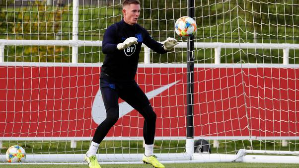 England bring in keeper Henderson for injured Heaton, Barkley out