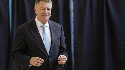 Romania's Iohannis wins presidential ballot, will face runoff