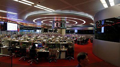 Asian shares give up gains as Hong Kong chaos hits sentiment