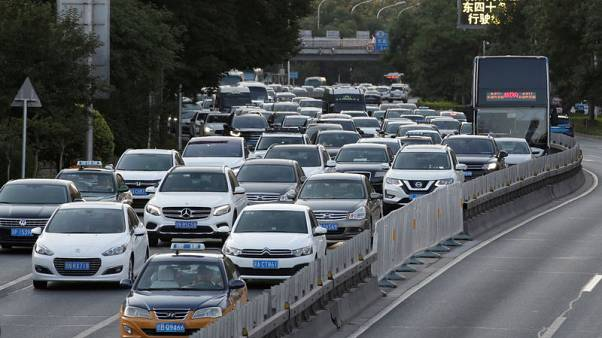 China auto sales fell 4% in October, 16th month of decline